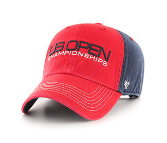 US Open '18 Backhand Save Cap (M) Red