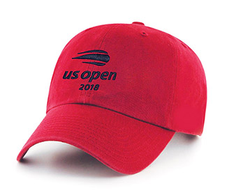 US Open '18 Washed Slouch Cap (M) Red