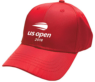 US Open '18 Bailey Performance Cap (Y) Red
