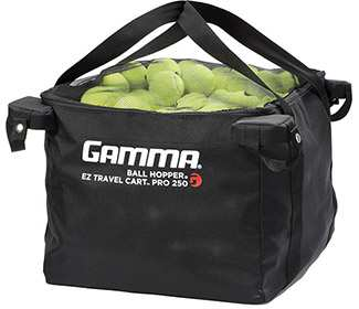 Gamma EZ Travel Cart PRO Bag (250 Balls)