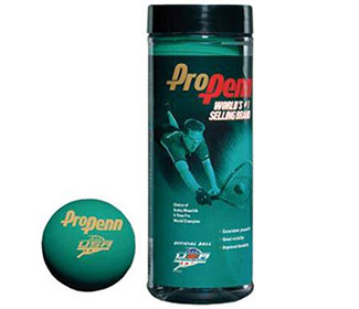 Pro Penn Green Racquetball Balls (Can) (1x)