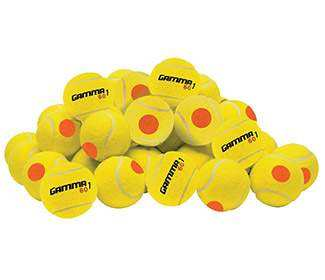 Gamma 60 Orange Dot Balls Bag (60x)