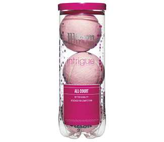 Wilson Intrigue All-Court Ball (Cans 3X)