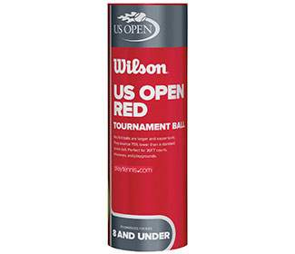 Wilson US Open Tournament Red Ball (Cans 1X)