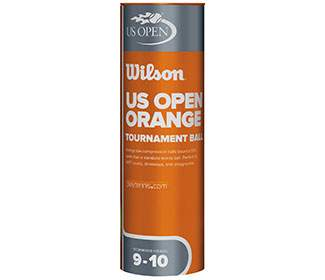 Wilson US Open Tournament Orange Ball (3x)