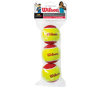 Wilson Starter Red Low Compression Ball (3x)