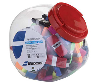 Babolat My Overgrip Jar (70x)-Assorted