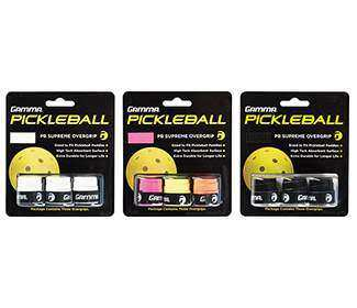 Gamma Pickleball Supreme Overgrip (3x)