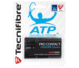Tecnifibre Pro Contact Overgrip (3x) Black