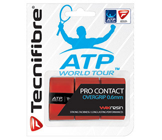 Tecnifibre Pro Contact Overgrip (3x) Red