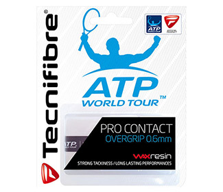 Tecnifibre Pro Contact Overgrip (3x) White