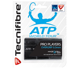 Tecnifibre Pro Players Overgrip (3x) Black