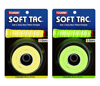 Tourna Soft Tac Overgrip (3x)