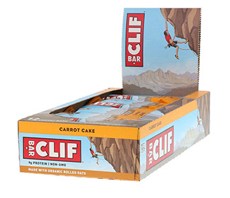 Clif Bars - Carrot Cake (12/Case)