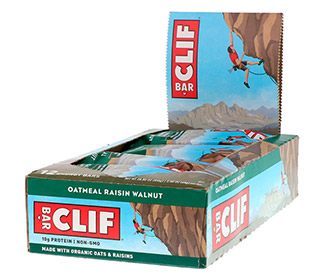 Clif Bars - Oatmeal Raisin Walnut (12/Case)