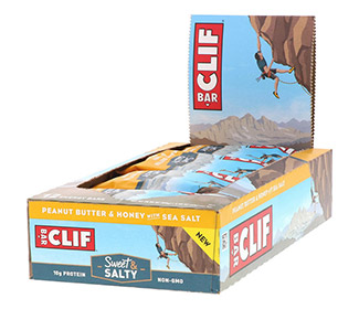 Clif Bars - Peanut Butter Honey w/ Sea Salt (12/Case)