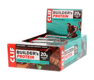 Clif Bar Builders (Chocolate Mint) (12/Case)
