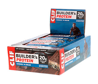 Clif Bar Builders (Cookies & Cream) (12/Case)