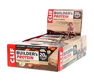 Clif Bar Builders (Vanilla) (12/Case)