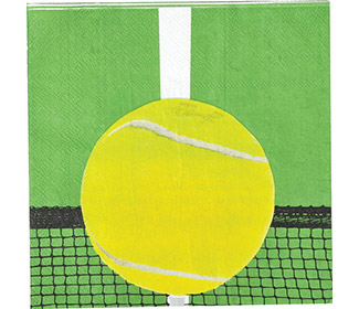 Tennis Luncheon Napkins (16x)