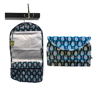 RockFlowerPaper Tennis Hanging Toiletry Bag