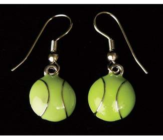 Tennis Ball Earrings
