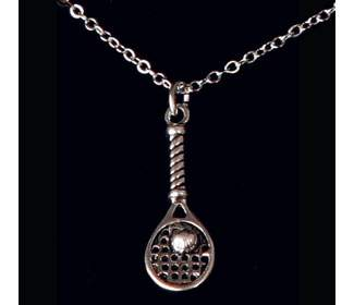 Single Racquet Necklace