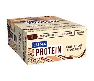 Luna Protein Bars (Choc. Chip Cookie Dough)(12/Case)