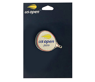 US Open 2019 Racquet Pin