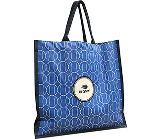 US OpenJute Market Tote (Blue)