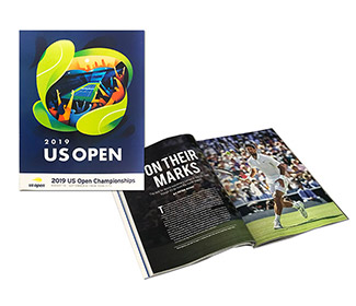US Open 2019 Official Program