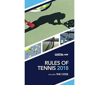 USTA Rules of Tennis 2018 Handbook