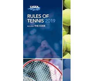 USTA Rules of Tennis 2019 Handbook
