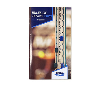 USTA Rules of Tennis 2020 Handbook