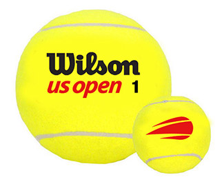 "Wilson Oversize Tennis Ball 9"" (Deflated)"