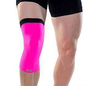 Zenzah Compression Knee Sleeve (Pink)