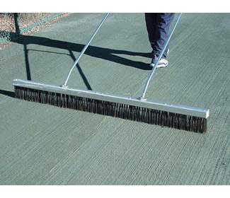Steel Bristle Drag Brush 6'