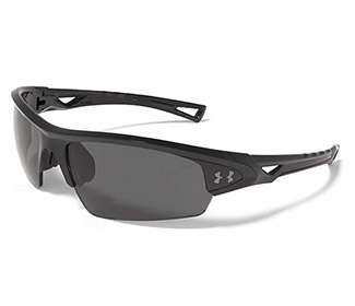 Under Armour Octane (Gray Polarized) Shiny Bl