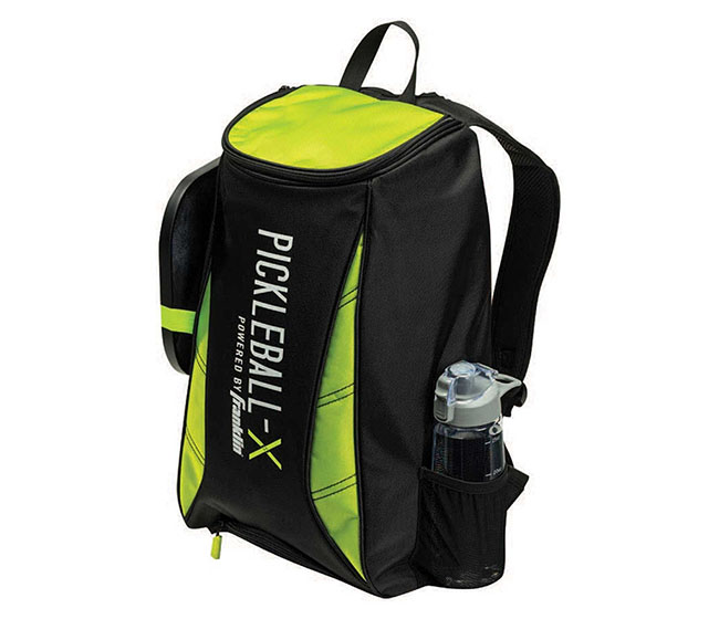 Franklin Deluxe Competition Backpack (Black/Optic Green)