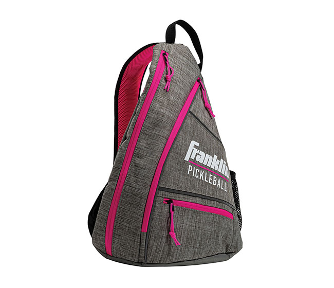 Franklin Pickleball Sling Bag (Grey/Pink)