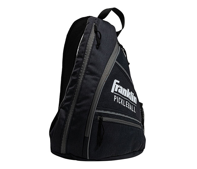 Franklin Pickleball Sling Bag (Black/Grey)
