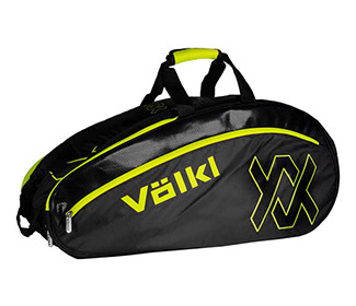 Volkl Tour Combi Bag (Black/Neon Yellow)