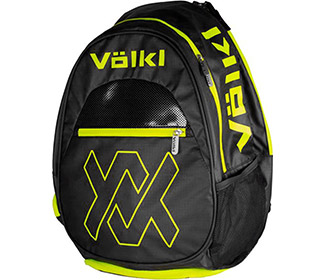 Volkl Tour Backpack (Black/Neon Yellow)