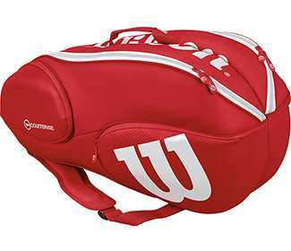 Wilson Pro Staff 9-Pack (Red/White)