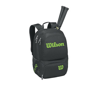 Wilson Tour V Backpack (Black/Lime)
