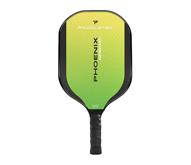 Paddletek Phoenix Genesis Pickleball Paddle (Green)