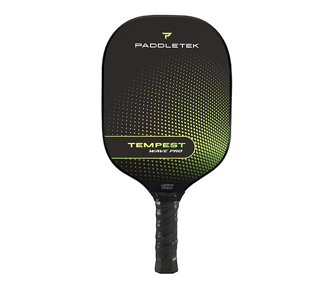 Paddletek Tempest Wave Pro Pickleball Paddle (Standard) (Green)