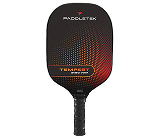 Paddletek Tempest Wave Pro Pickleball Paddle (Standard) (Red)