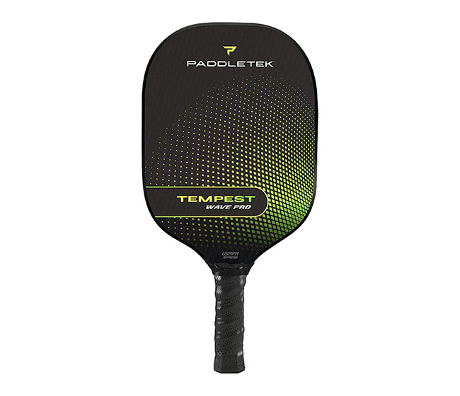 Paddletek Tempest Wave Pro Pickleball Paddle (Thin) (Green)