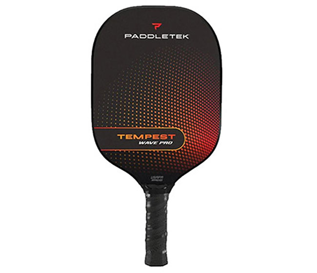 Paddletek Tempest Wave Pro Pickleball Paddle (Thin) (Red)
